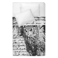 Vintage owl Duvet Cover Double Side (Single Size)