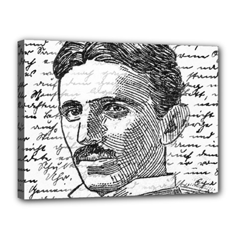 Nikola Tesla Canvas 16  x 12