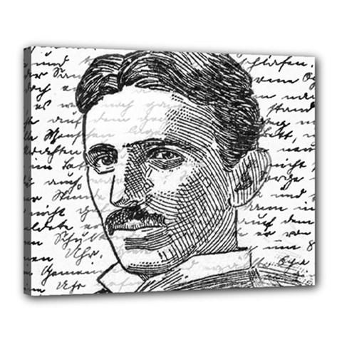 Nikola Tesla Canvas 20  x 16