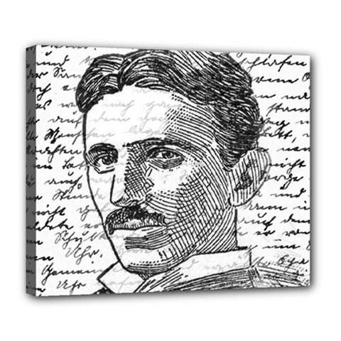 Nikola Tesla Deluxe Canvas 24  x 20