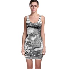 Nikola Tesla Sleeveless Bodycon Dress