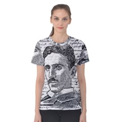 Nikola Tesla Women s Cotton Tee