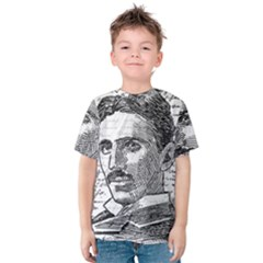 Nikola Tesla Kids  Cotton Tee