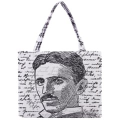 Nikola Tesla Mini Tote Bag