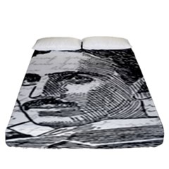 Nikola Tesla Fitted Sheet (King Size)