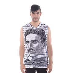 Nikola Tesla Men s Basketball Tank Top