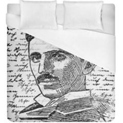 Nikola Tesla Duvet Cover (King Size)