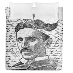 Nikola Tesla Duvet Cover Double Side (Queen Size)