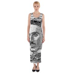Nikola Tesla Fitted Maxi Dress