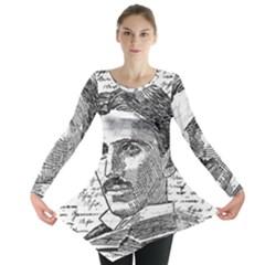 Nikola Tesla Long Sleeve Tunic