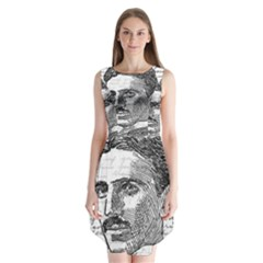 Nikola Tesla Sleeveless Chiffon Dress