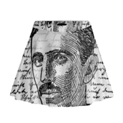 Nikola Tesla Mini Flare Skirt