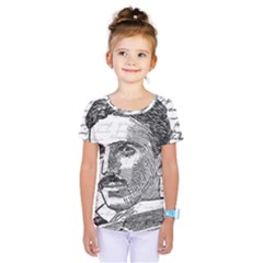 Nikola Tesla Kids  One Piece Tee
