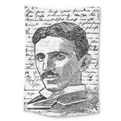 Nikola Tesla Large Tapestry