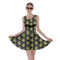 Love Apple Skater Dress