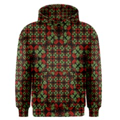 Asian Ornate Patchwork Pattern Men s Pullover Hoodie