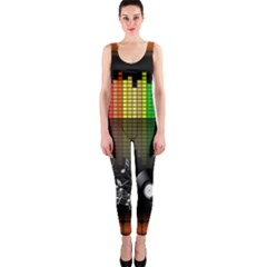 Music Pattern OnePiece Catsuit