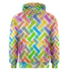 Abstract Pattern Colorful Wallpaper Men s Pullover Hoodie