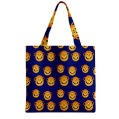 Monkeys Seamless Pattern Grocery Tote Bag