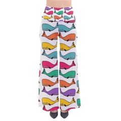 Small Rainbow Whales Pants