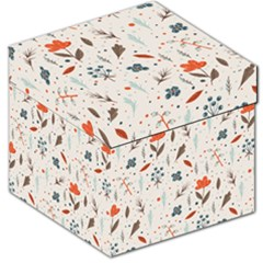 Seamless Floral Patterns  Storage Stool 12