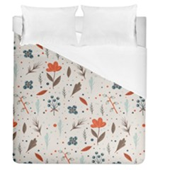 Seamless Floral Patterns  Duvet Cover (Queen Size)