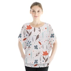 Seamless Floral Patterns  Blouse
