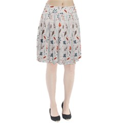 Seamless Floral Patterns  Pleated Skirt