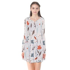 Seamless Floral Patterns  Flare Dress
