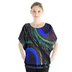 Peacock Feather Blouse