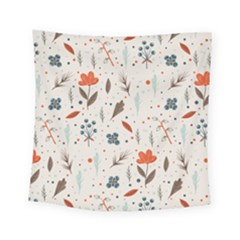 Seamless Floral Patterns  Square Tapestry (Small)