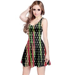 Alien Animal Skin Pattern Reversible Sleeveless Dress