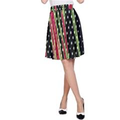 Alien Animal Skin Pattern A Line Skirt