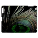 Feather Peacock Drops Green Apple iPad 3/4 Hardshell Case View1