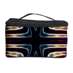 Colorful Seamless Vibrant Pattern Cosmetic Storage Case