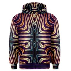 Colorful Seamless Vibrant Pattern Men s Zipper Hoodie