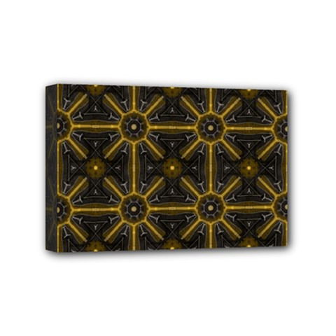 Seamless Symmetry Pattern Mini Canvas 6  X 4