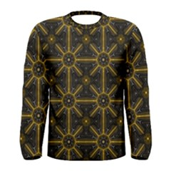Seamless Symmetry Pattern Men s Long Sleeve Tee