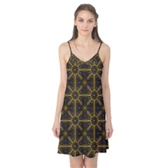 Seamless Symmetry Pattern Camis Nightgown