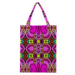 Love Hearths Colourful Abstract Background Design Classic Tote Bag