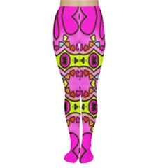 Love Hearths Colourful Abstract Background Design Women s Tights