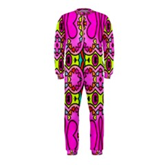 Love Hearths Colourful Abstract Background Design Onepiece Jumpsuit (kids)