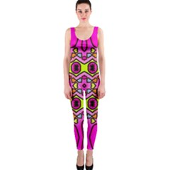 Love Hearths Colourful Abstract Background Design OnePiece Catsuit
