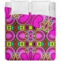 Love Hearths Colourful Abstract Background Design Duvet Cover Double Side (California King Size) View1
