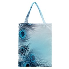 Feathery Background Classic Tote Bag