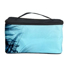 Feathery Background Cosmetic Storage Case