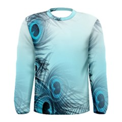 Feathery Background Men s Long Sleeve Tee