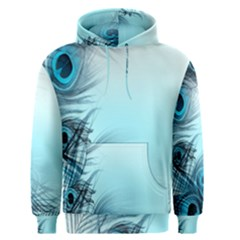 Feathery Background Men s Pullover Hoodie