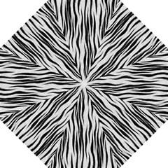 Black White Seamless Fur Pattern Golf Umbrellas