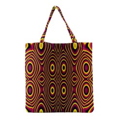 Vibrant Pattern Grocery Tote Bag